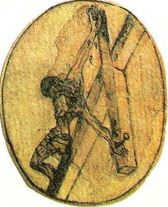 crucifix drawing john of the cross