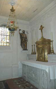 cure dars chapel john baptist