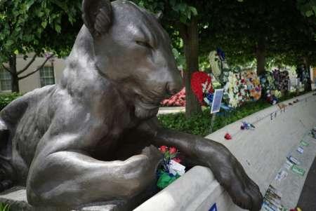 police memorial lioness