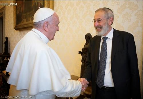POPE FRANCIS RICCARDO DI SEGNI