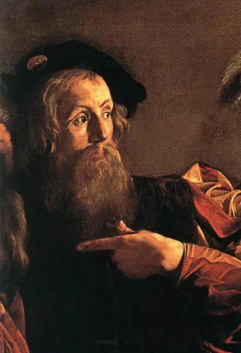 Saint Matthew tax collector Caravaggio