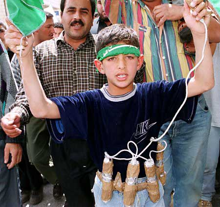 suicide bomber land day 2001