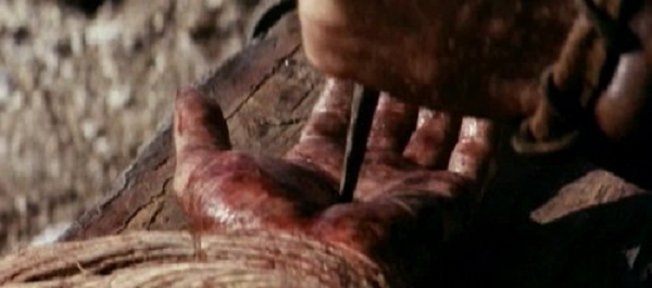 Jesus Passion of the Christ hand nail