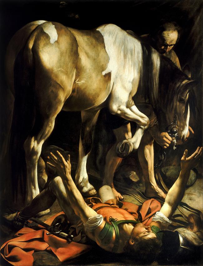 Saint Paul Conversion Damascus Caravaggio