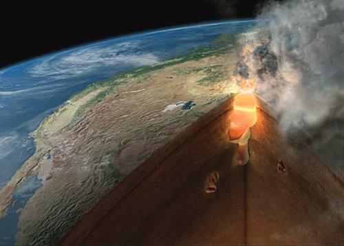 yellowstone caldera supervolcano