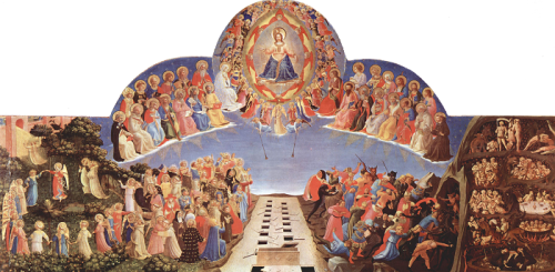 fra angelico last judgment