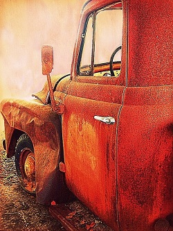 truck red