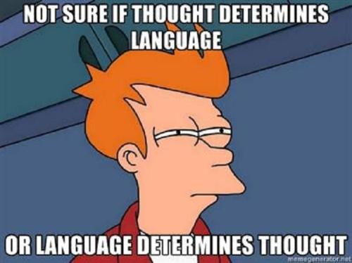 linguistic event