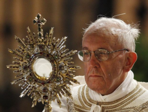 eucharist pope francis