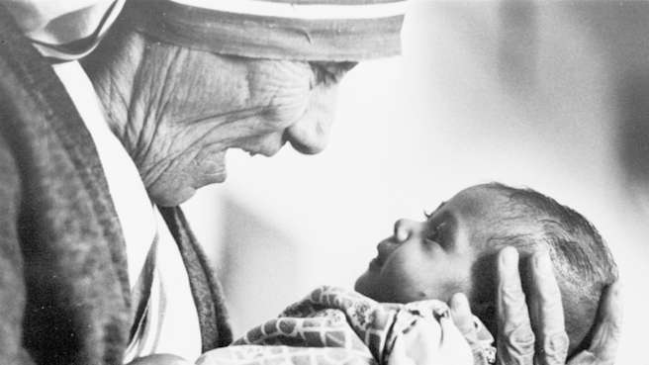mother teresa of calcutta baby