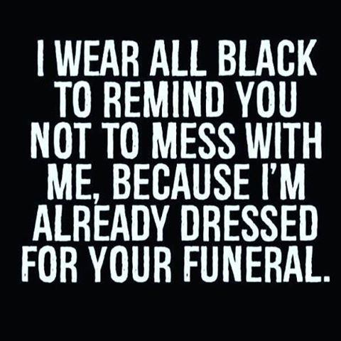 priests wear all black