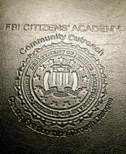 FBI CITIZENS ACADEMY