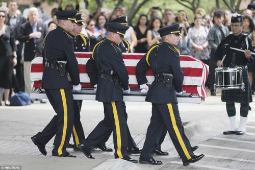 LEO Dallas Funeral