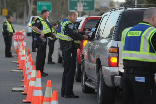 imigration dui license registration checkpoint