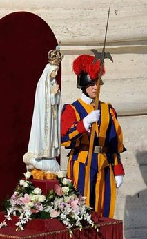 swiss guard fatima