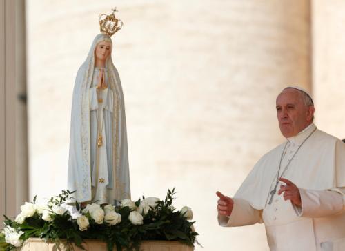 pope francis fatima