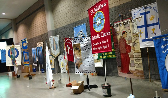 Eucharistic Congress banners