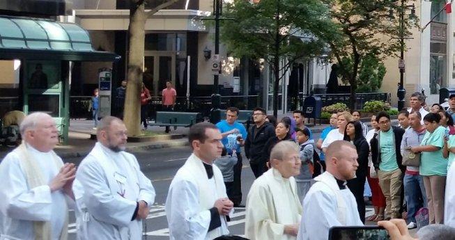 Eucharistic Congress procession