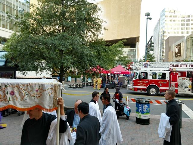 Eucharistic Congress with 9-11 memorial