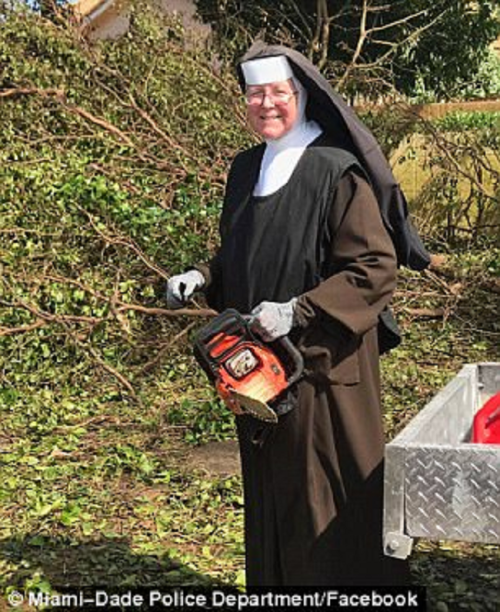 nun chainsaw