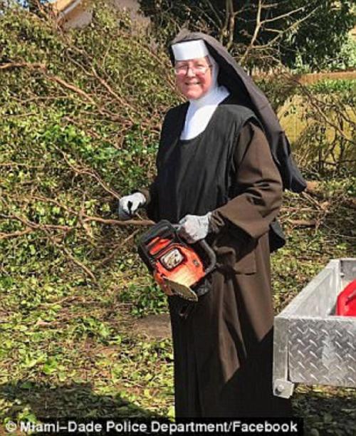 nun chainsaw