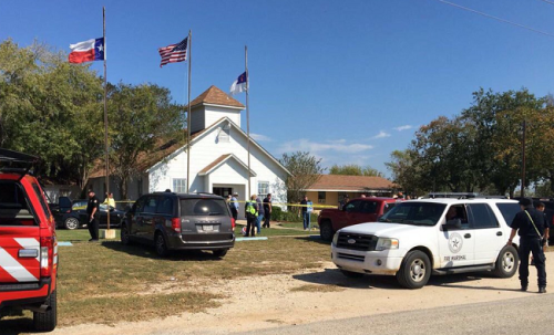 active shooter texas church