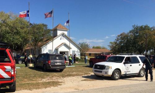active shooter texas church