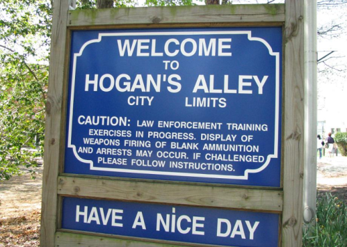 FBI Hogans Alley