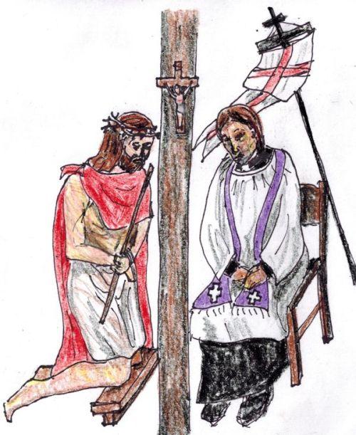 Jesus confesses