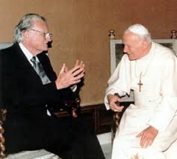 billy graham john paul ii