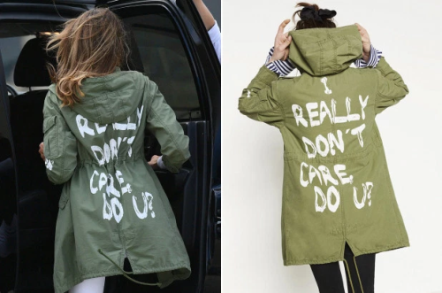 melania trump i really dont care