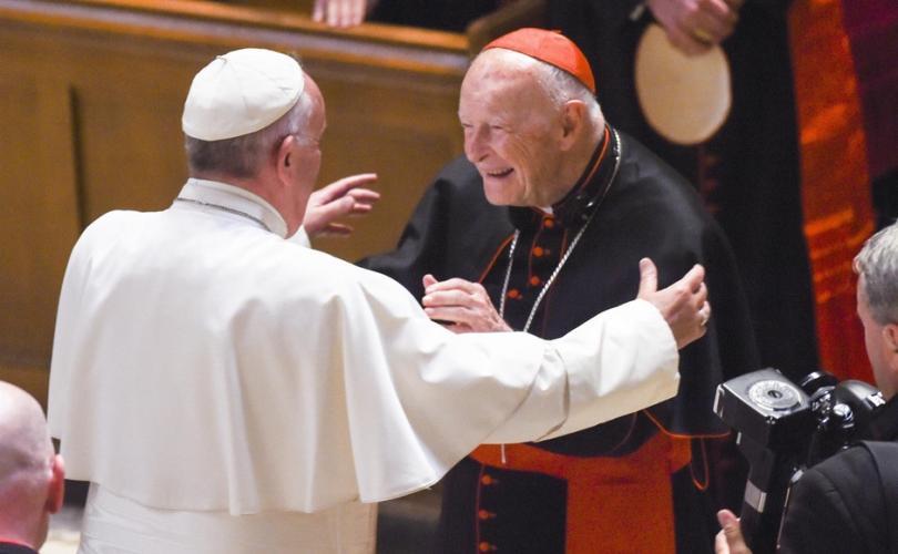 pope francis cardinal mccarrick