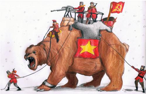 stalin bear