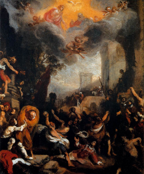 saint stephen stoned to death