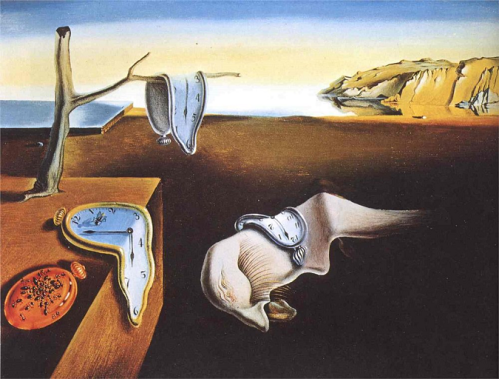 salvador dali persistence of time