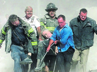 Father Mychal Judge September 11 WTC pieta image