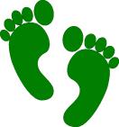 PJ Green Feet