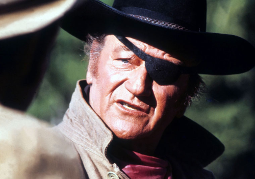 john wayne eye patch
