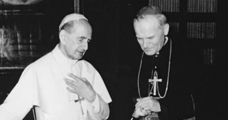 saint pope paul vi Karol Wojtyła
