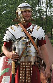 roman soldier lorica