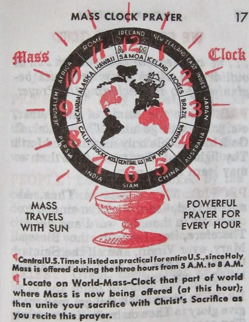 mass clock prayer