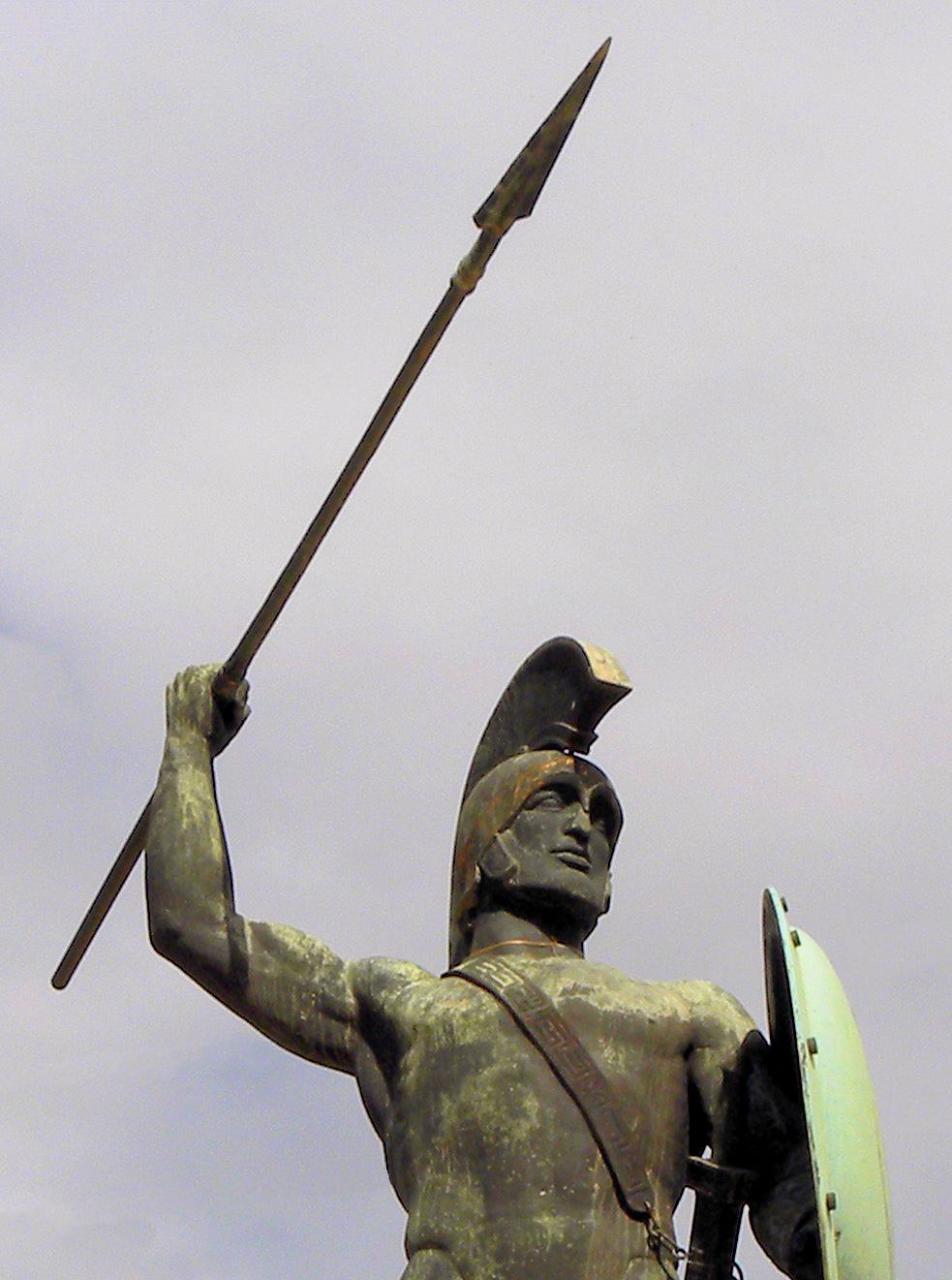 molon labe statue