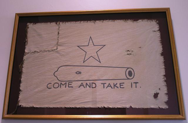 molon labe texas flag